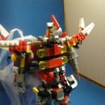 救急合体シンクレッダーの単体ロボ。