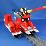 超特急列車組換えで超(トンデモ)兵器。自走動画付き。
