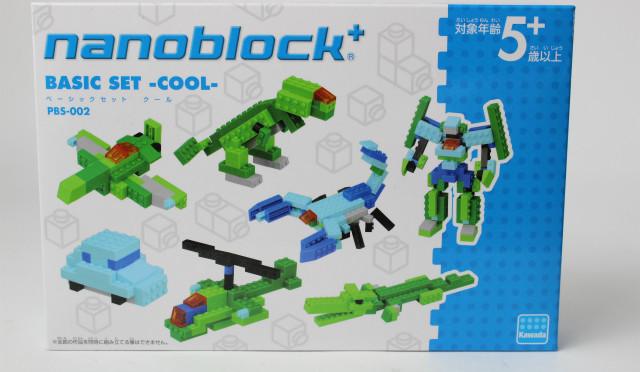 ナノブロック+ ベーシックセット COOL レビュー