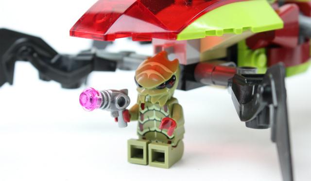 レゴ ギャラクシー・スクワッド クレーター・クリーパー