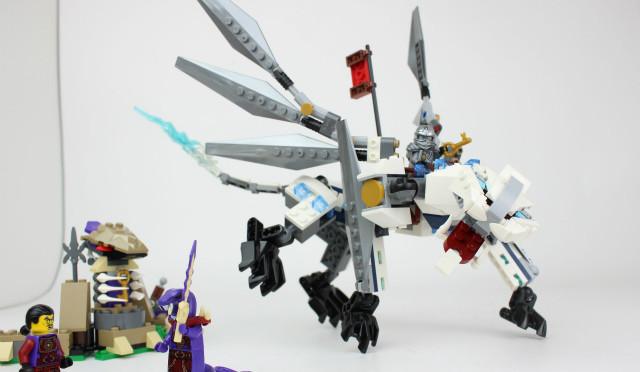 レゴ ニンジャゴー チタニウムドラゴン