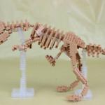 nanoblock ティラノサウルス 骨格モデル