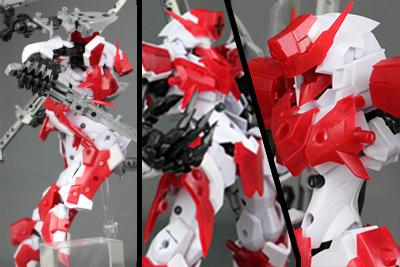 ブロッカーズ PRIM 近接格闘タイプ V-RAID(ジョイントフェスティバル4先行発売分) レビュー