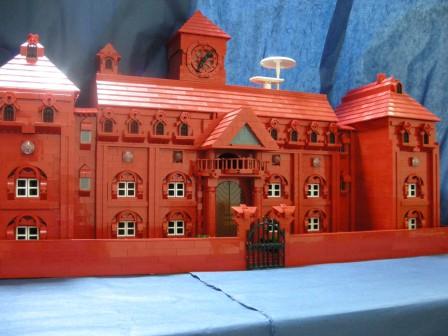 LEGO紅魔館1