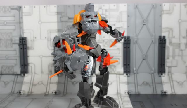 色んな意味でロック レゴ ヒーローファクトリー ブルーザー