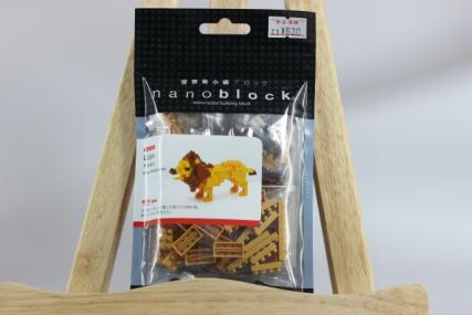 nanoblock ライオン2