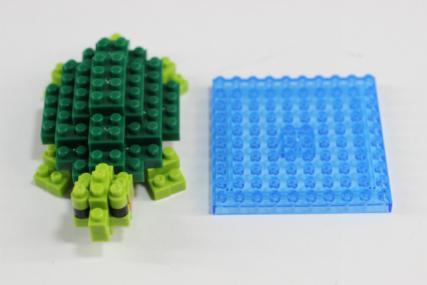 nanoblock ミドリガメ8