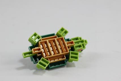 nanoblock ミドリガメ11