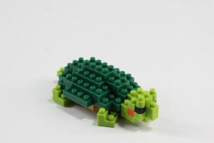 nanoblock ミドリガメ13