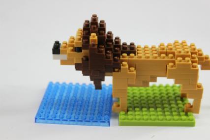 nanoblock ライオン6