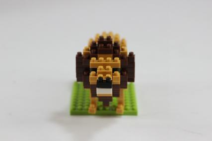 nanoblock ライオン9
