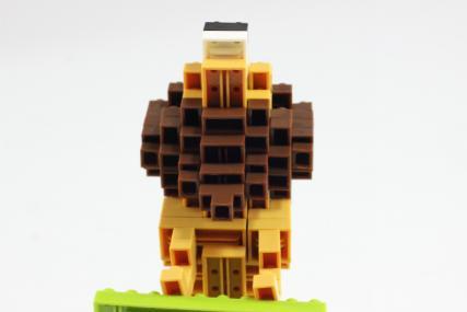 nanoblock ライオン12