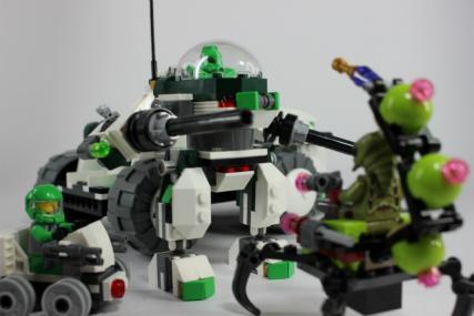 ロマン車両!レゴ ギャラクシースクワッド バーミン・バポライザー(後編)
