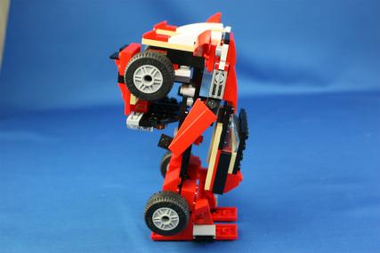 クリエイターで変形ロボ6