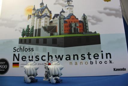 nanoblock ノイシュバンシュタイン城 DELUXE EDITION2