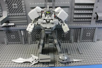機械式人型防衛兵器11