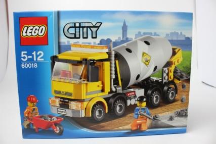 60018 レゴ シティ コンクリートミキサー車1