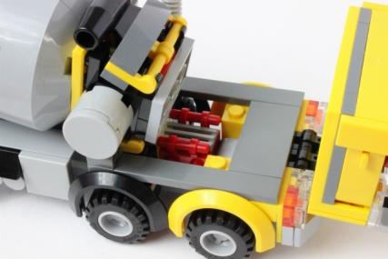 60018 レゴ シティ コンクリートミキサー車23