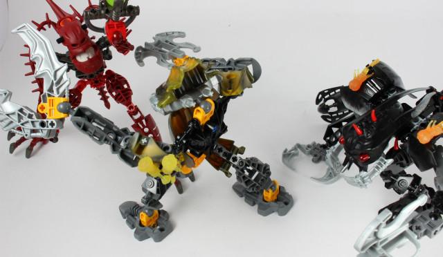 レゴ バイオニクル ハカーン&カラパー&マンタックス