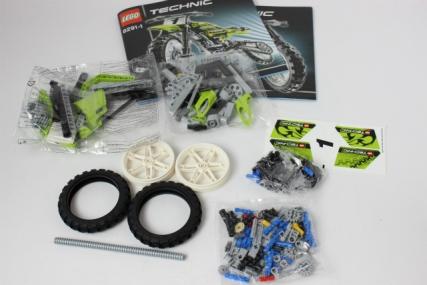 レゴ 8291 ダートバイク3