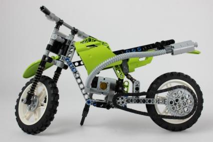 レゴ 8291 ダートバイク6
