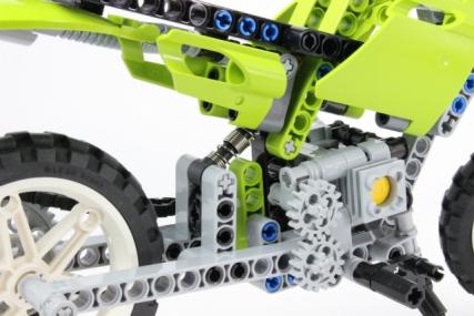 レゴ 8291 ダートバイク8