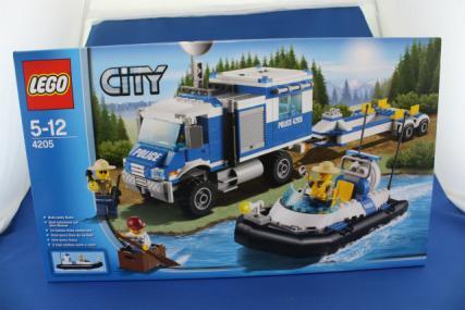 ポリス指令トラックとポリスボート1