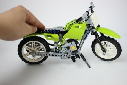 レゴ 8291 ダートバイク14