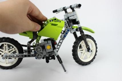 レゴ 8291 ダートバイク16