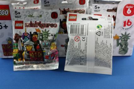 ミニフィギュアシリーズ6-7