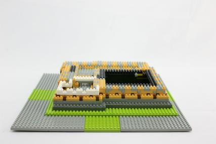 nanoblock 姫路城14