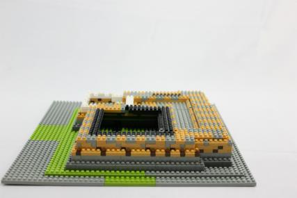 nanoblock 姫路城15