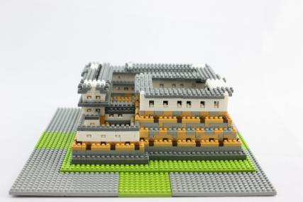 nanoblock 姫路城19