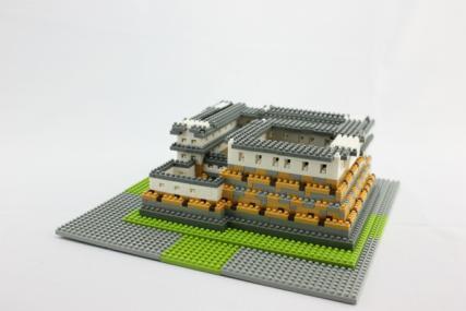 nanoblock 姫路城18