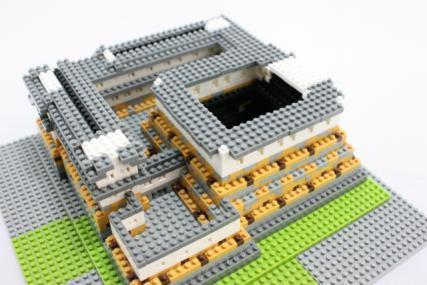 nanoblock 姫路城23