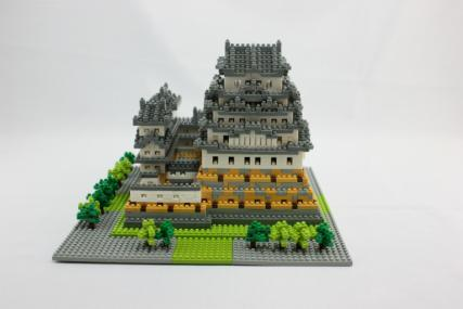 nanoblock 姫路城30