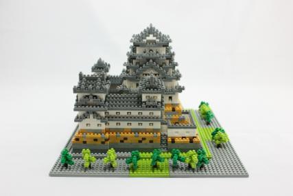 nanoblock 姫路城32