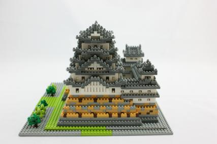 nanoblock 姫路城34