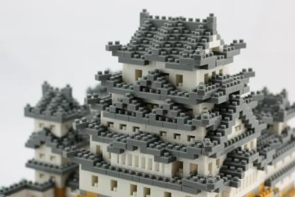 nanoblock 姫路城35