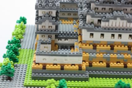 nanoblock 姫路城36