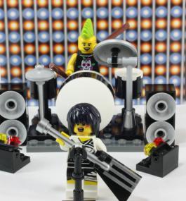 ロックバンド ミニフィグアクセサリーセット10