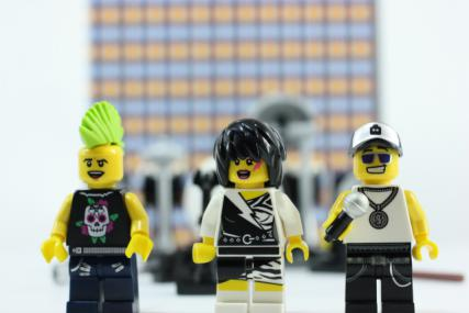 ロックバンド ミニフィグアクセサリーセット5