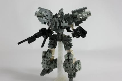 銃装士ナノゼルバー(試作型)1