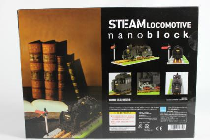nanoblock 蒸気機関車2