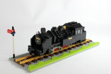 nanoblock 蒸気機関車9