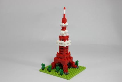 nanoblock 東京タワー7