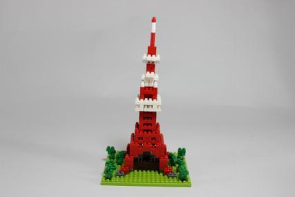 nanoblock 東京タワー9