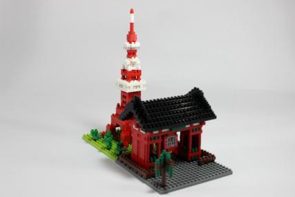 nanoblock 東京タワー11