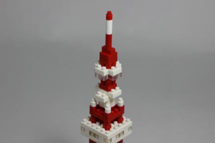 nanoblock 東京タワー14