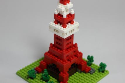 nanoblock 東京タワー15